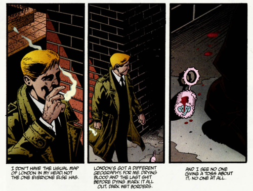 He may look like your average Hollywood straight middle-class dudebro anti-hero, but John Constantine gives way more of a damn then all those turds put together.