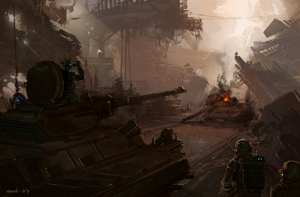 1050x691_4115_Battlefield_2d_sci_fi_tank_soldiers_picture_image_digital_art
