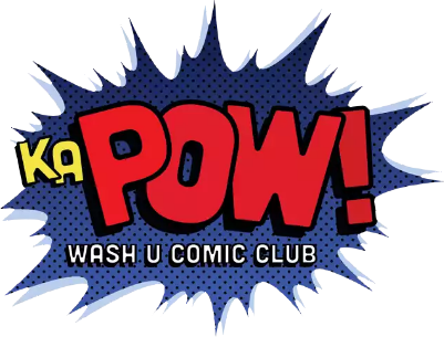 KaPOW Comic Club Logo